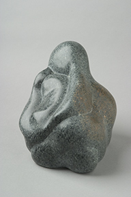 'creation' carved in polyphant soapstone